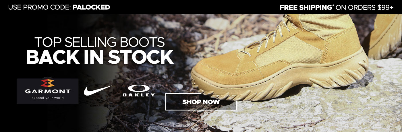 Boots back in stock